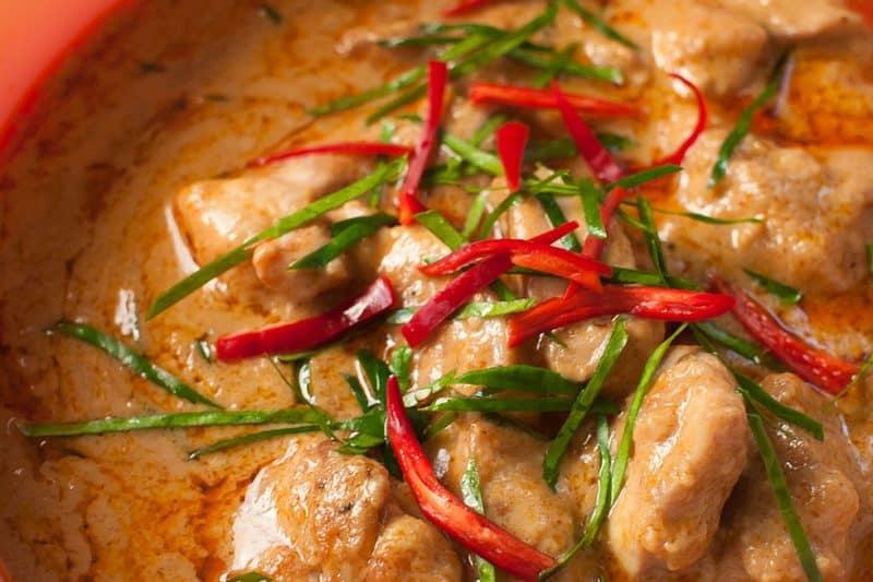 Curry Penang - Les meilleurs plats thaïlandais en 2021 - Que faire en thailande