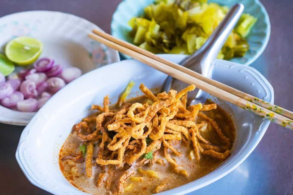 Khao Soi - Les meilleurs plats thaïlandais en 2021 - Que faire en thailande