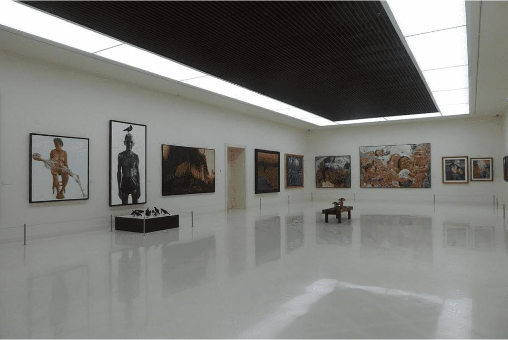 Intérieur Moca - Musée thailande - que faire en thailande