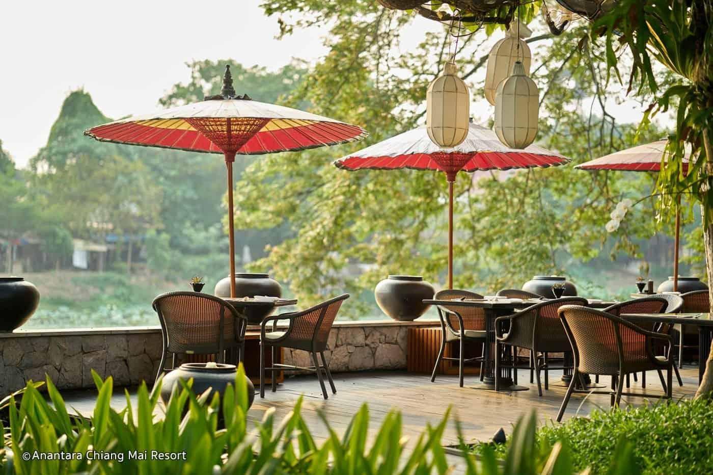 Restaurant de l'Anantara Chiang Mai Resort