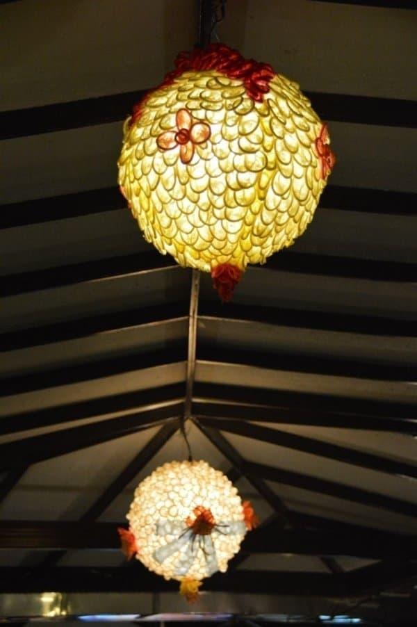 Lampe - Cabbages et Condom : un restaurant insolite à Bangkok - que faire en thailande