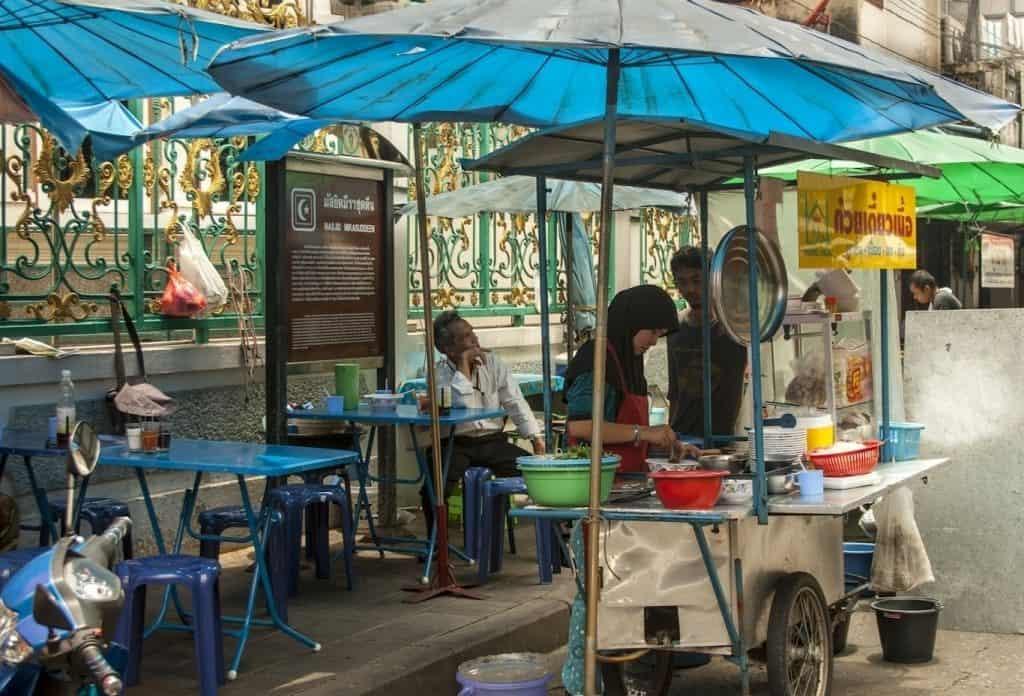 Chariots mobiles - Comment commander de la street food en Thaïlande - que faire en thailande