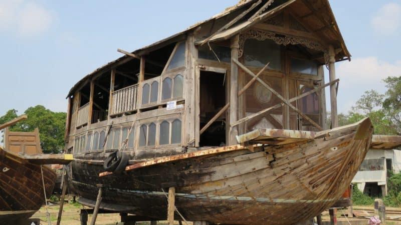 Thai Boat Museum Ayutthaya