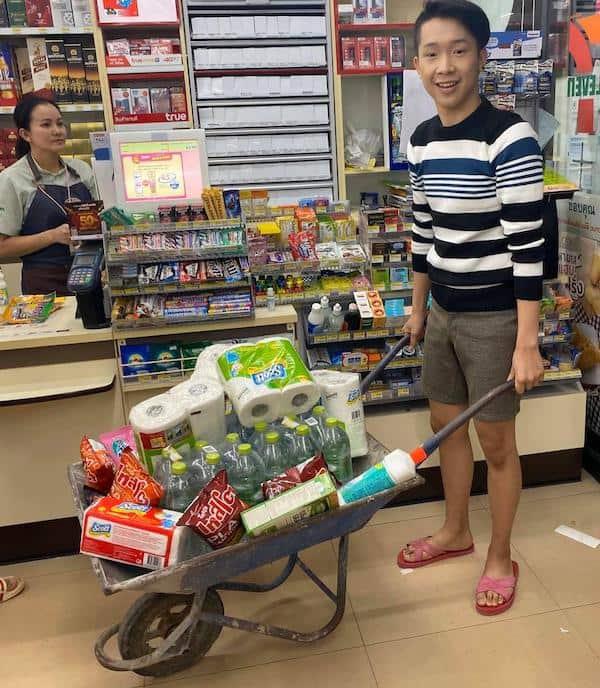 Bonus 7-Eleven - que faire en thailande