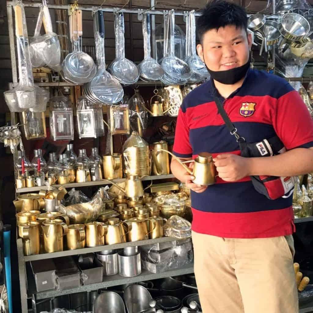 Comment dire café en thaï - coffee shop chiang mai - que faire en thailande