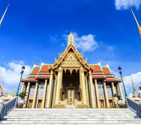 Grand Palais et le Bouddha d'émeraude Bangkok