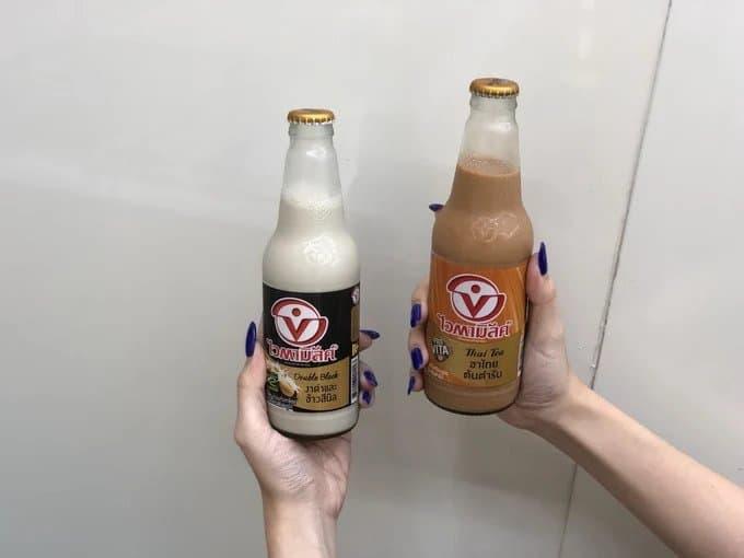 Thé au lait thai au lait de soja - 7-Eleven Thailande - que faire en thailande