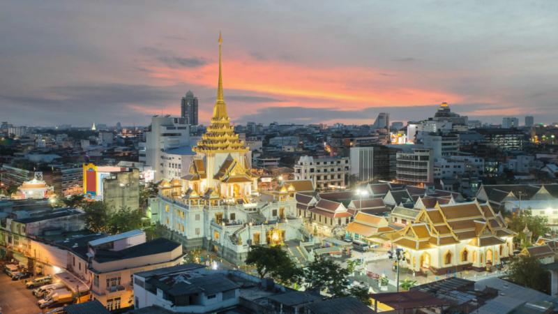 Wat Traimit : le temple du Bouddha en or massif