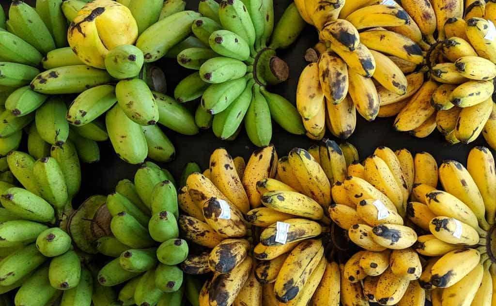 Banane - 12 fruits à essayer en Thaïlande