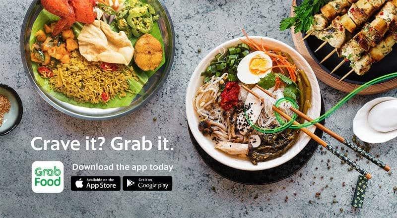 Grab Food - application livraison repas pour Bangkok - application pour la thailande - que faire en thailande