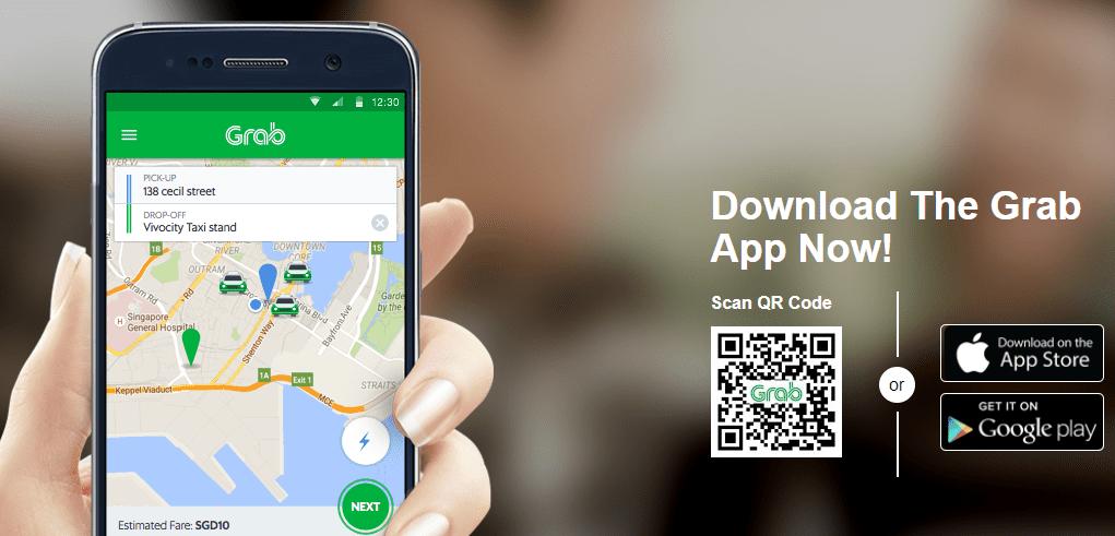 Grab - application pour la thailande - que faire en thailande