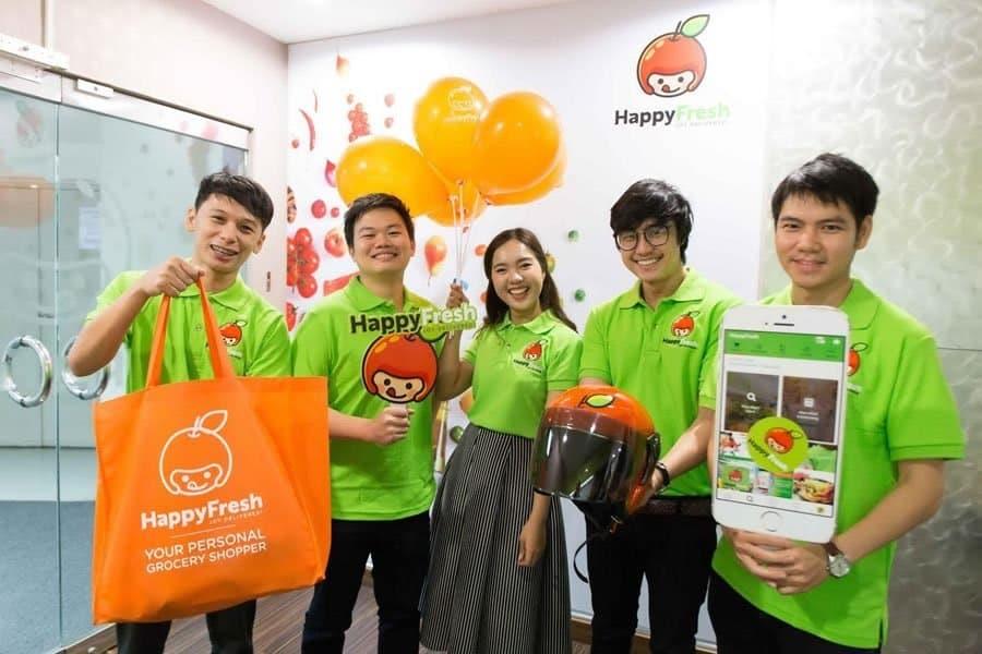 HappyFresh - application pour la thailande - que faire en thailande