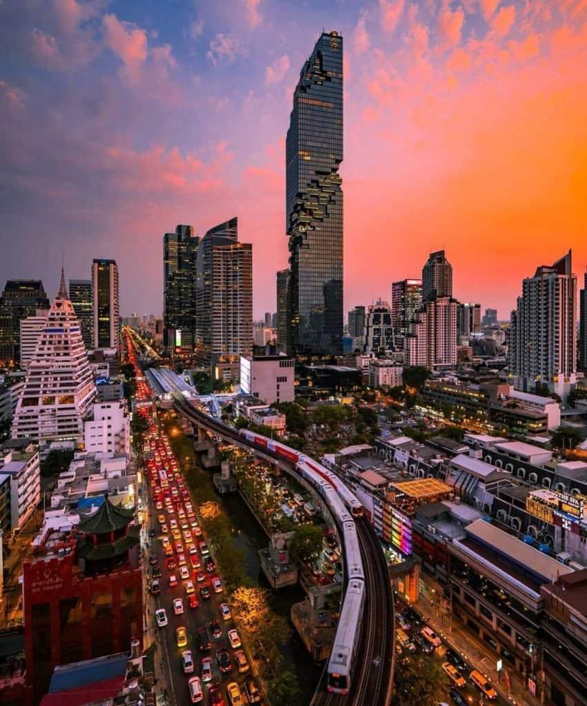 King Power Mahanakhon - Bangkok, Thailande - plus haute tour de bangkok - que faire en thailande