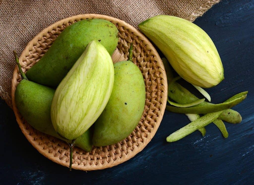 Mangue - 12 fruits à essayer en Thaïlande