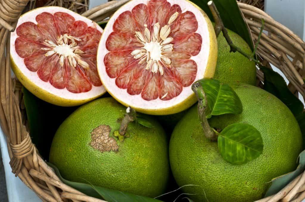 Pomelo - 12 fruits à essayer en Thaïlande