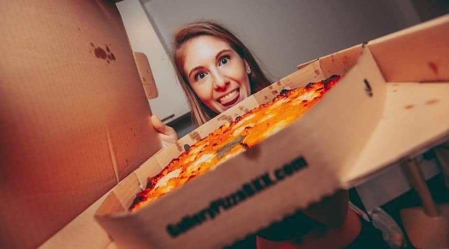 Pizza - application livraison repas pour Bangkok - application pour la thailande - que faire en thailande