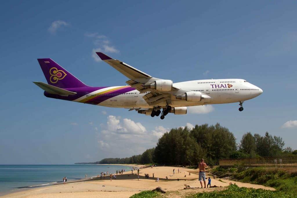 Réouverture de Phuket sans quarantaine dès le 1er juillet 2021. Thai Airways