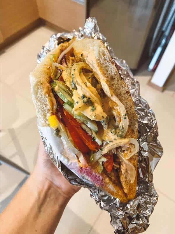 Repas Grab Food - application livraison repas pour Bangkok - application pour la thailande - que faire en thailande