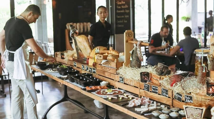 cagette restaurant français bangkok - que faire en thailande