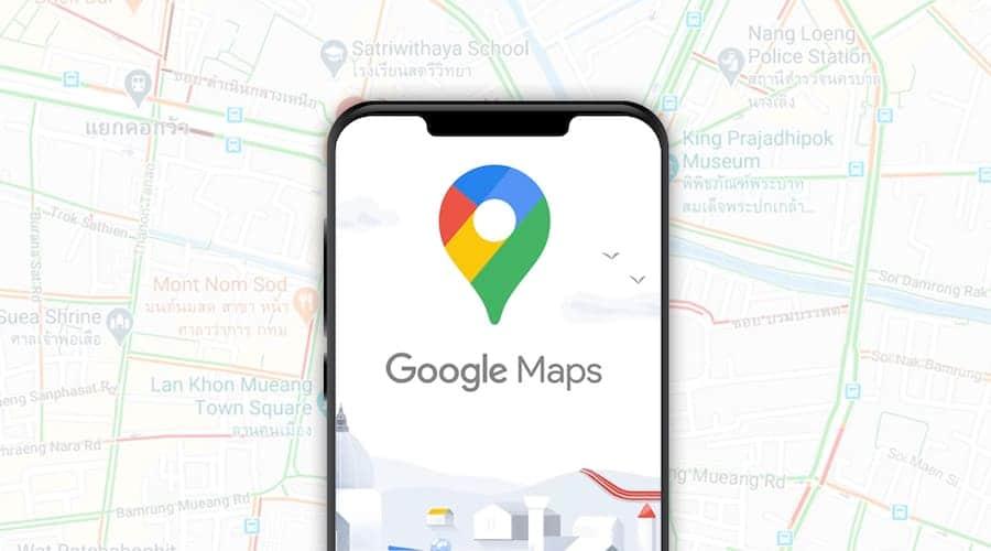 Google maps - 11 applications à installer avant de partir en Thaïlande - que faire en thailande