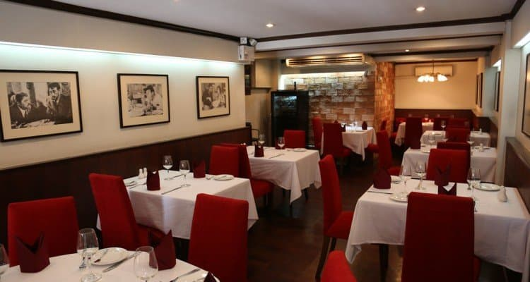 jp restaurant français bangkok intérieur - meilleurs restaurants français de bangkok - que faire en thailande