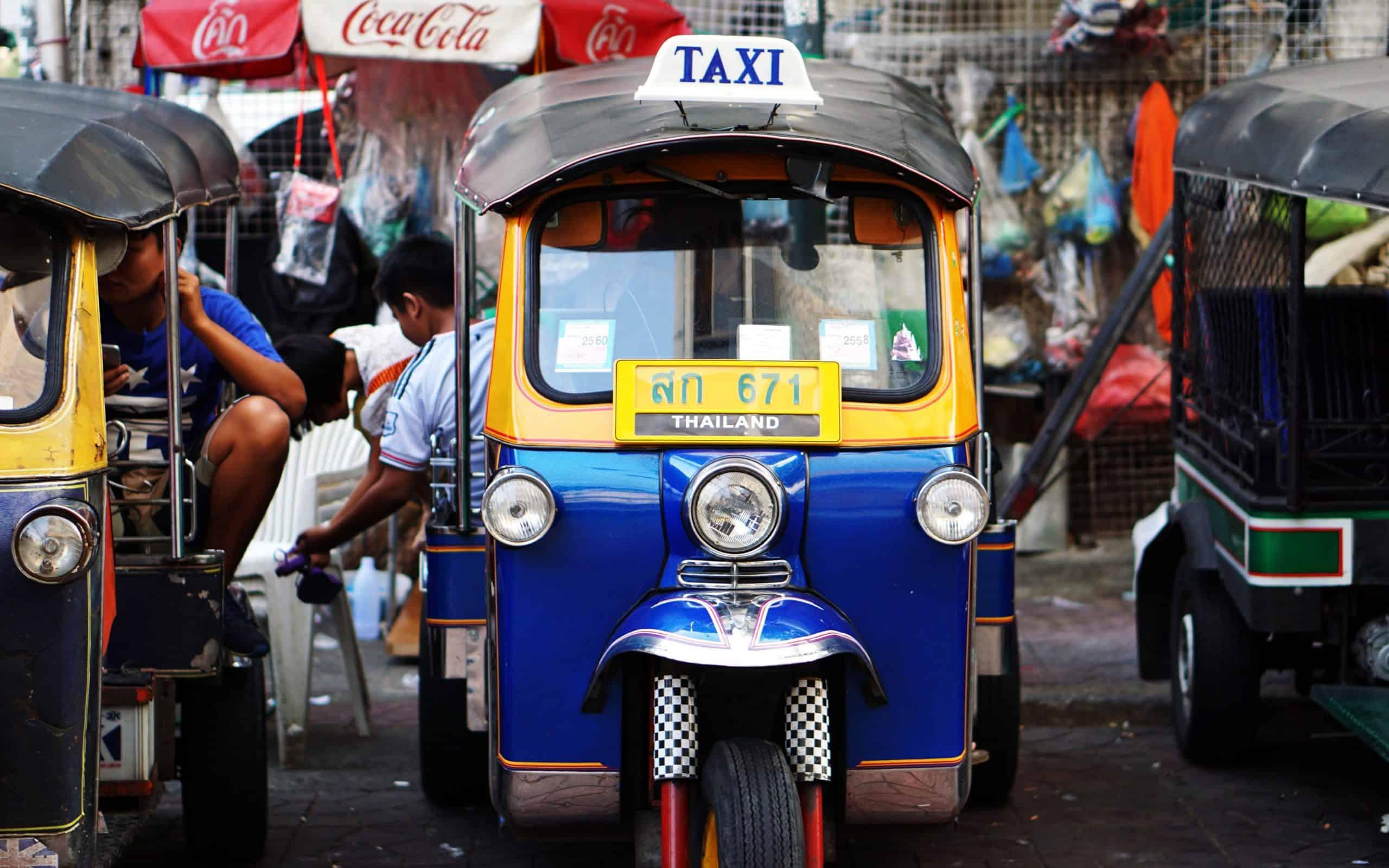 Tuk-Tuk Bangkok Thailand - 10 choses à faire à Bangkok en 2021