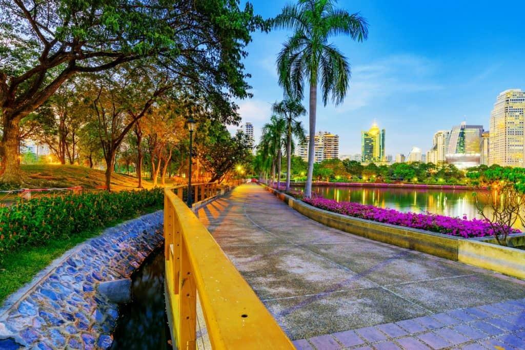 Benjakitti Park - 10 plus grands parcs de Bangkok