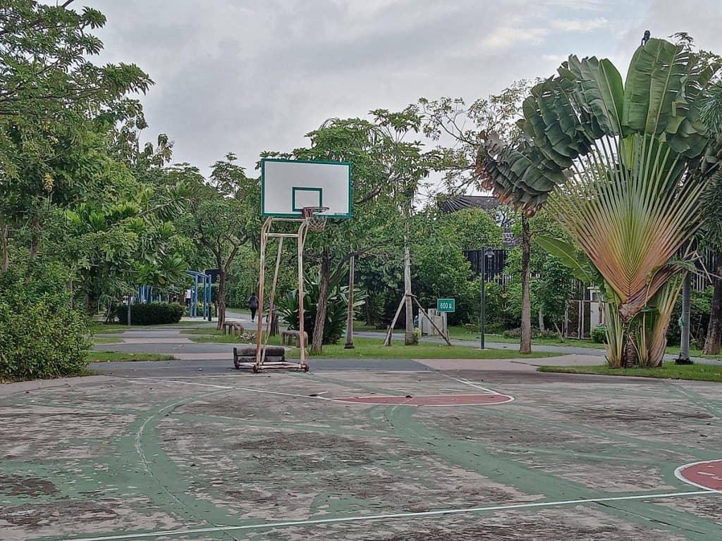 Nawamin Phirom Park terrain de basket