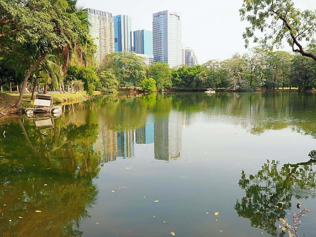 Wachirabenchatat Park - 10 plus grands parcs publics de Bangkok